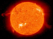 Sonne - Quelle: NASA, CC BY 2.0 (http://www.flickr.com/photos/gsfc/)