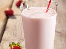 erdbeer proteinshake - Quelle: ganzoben