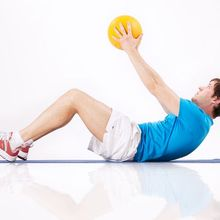 Medizinball Workout 4 - Quelle: (c) fin.de