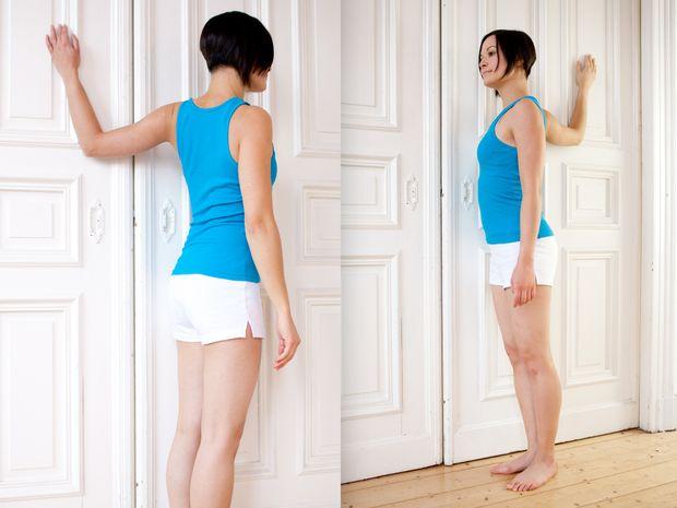 Brustmuskel Dehnen
