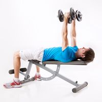 Bench Press with Rotation
