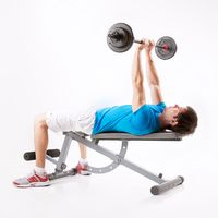 Bench Press, Narrow Grip with Barbell